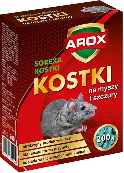 Kostka na myszy i szczury 200 g