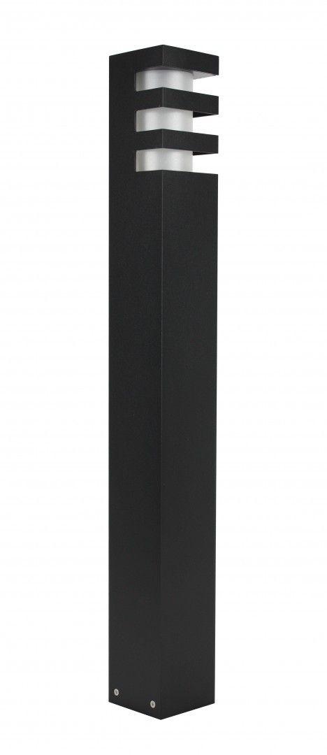 SU-MA RADO 1 BL lampa stojąca czarna E27 IP54 75cm