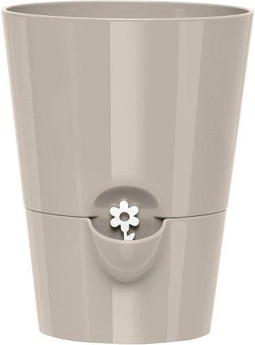 Samonawadniająca doniczka na zioła, 13cm, 1.2l, Antracyt