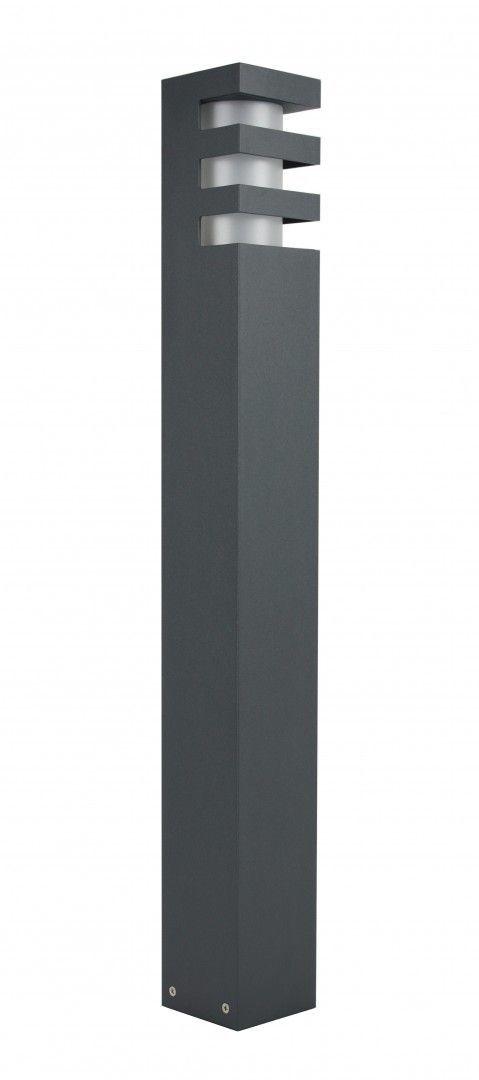 SU-MA RADO 1 DG lampa stojąca ciemny popiel E27 IP54 75cm