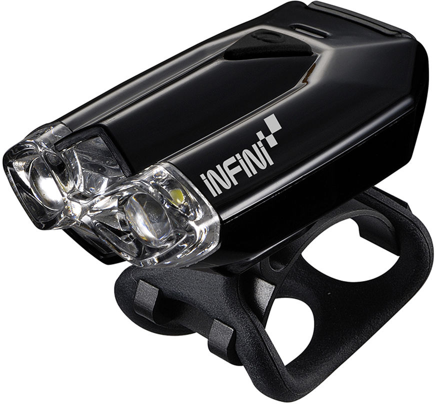 INFINI LAVA W Black USB przednia lampka rowerowa I-260W-B,4712123261171