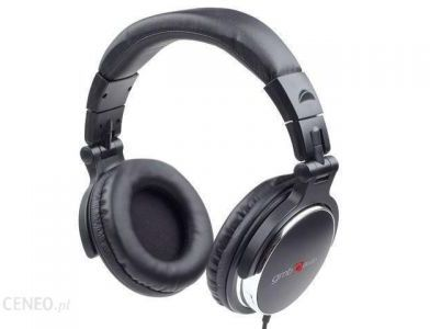 . Słuchawki Gembird MONTREAL czarne (MHP-YUL-BK)