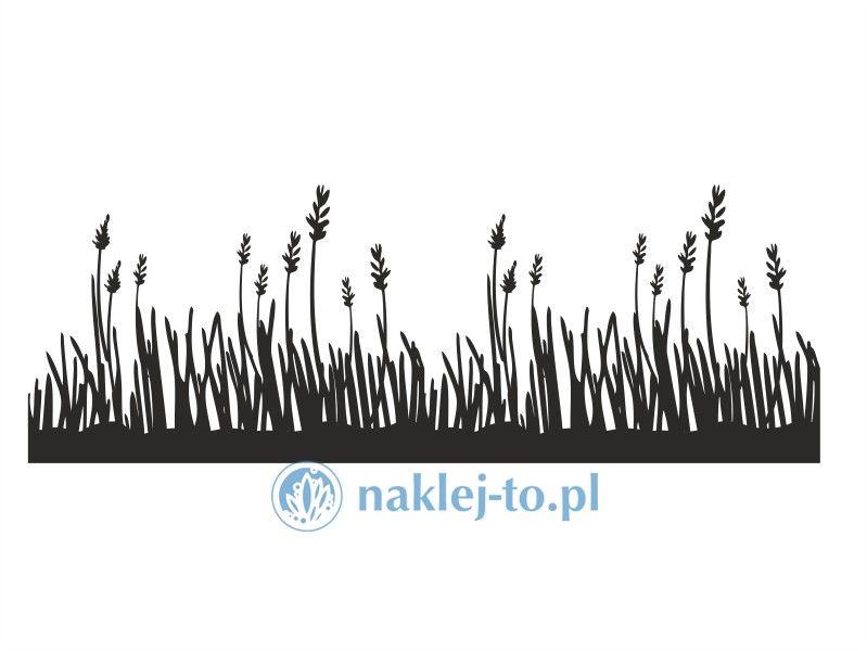 Naklejka łąka