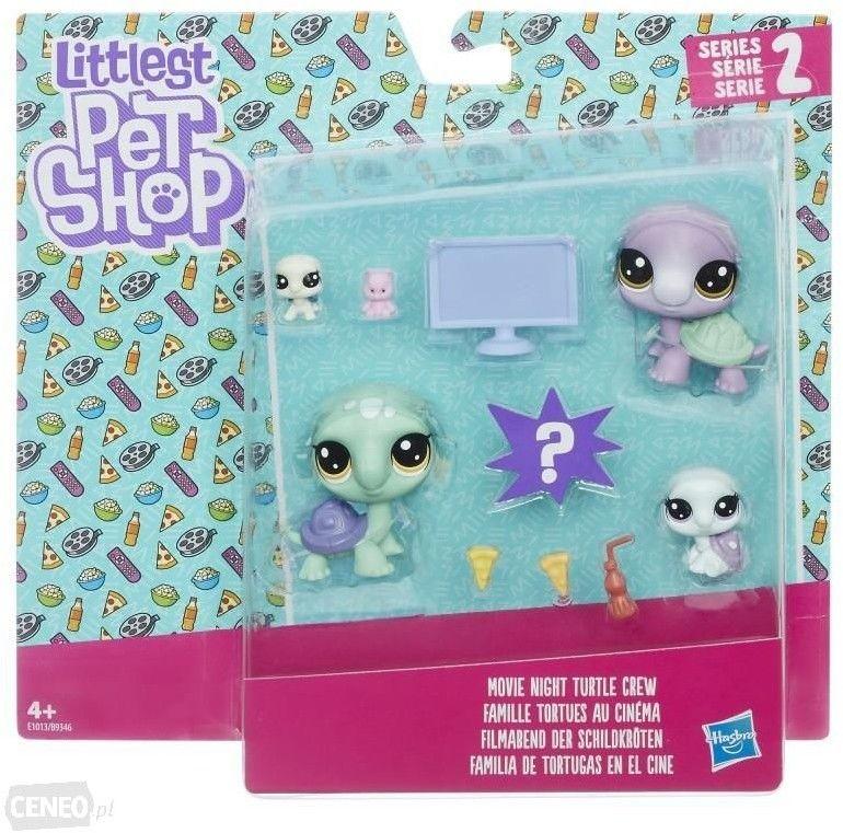 Hasbro Little Pet Shop Rodzina Zwierzaków B9346