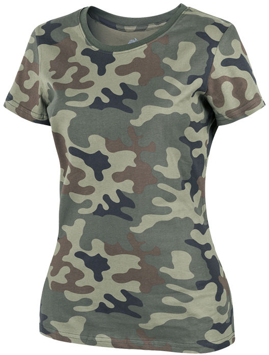Koszulka T-shirt damska Helikon PL Woodland wz.93 (TS-TSW-CO-04) H