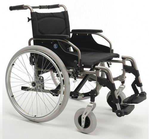 Wózek ze stopów lekkich Vermeiren V 200 XXL dedykowany dla osób ważących do 175 kg
