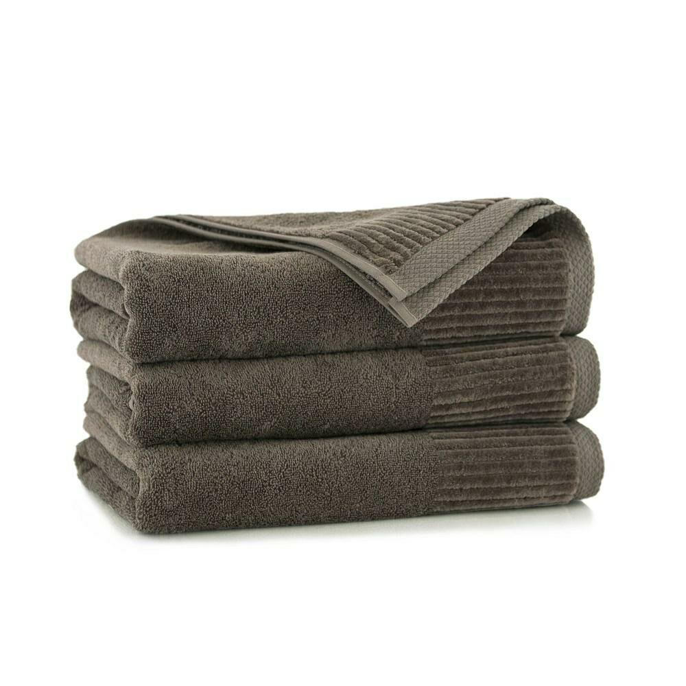 Ręcznik Lisbona 30x50 beżowy ciemny taupe 8527/587 450g/m2
