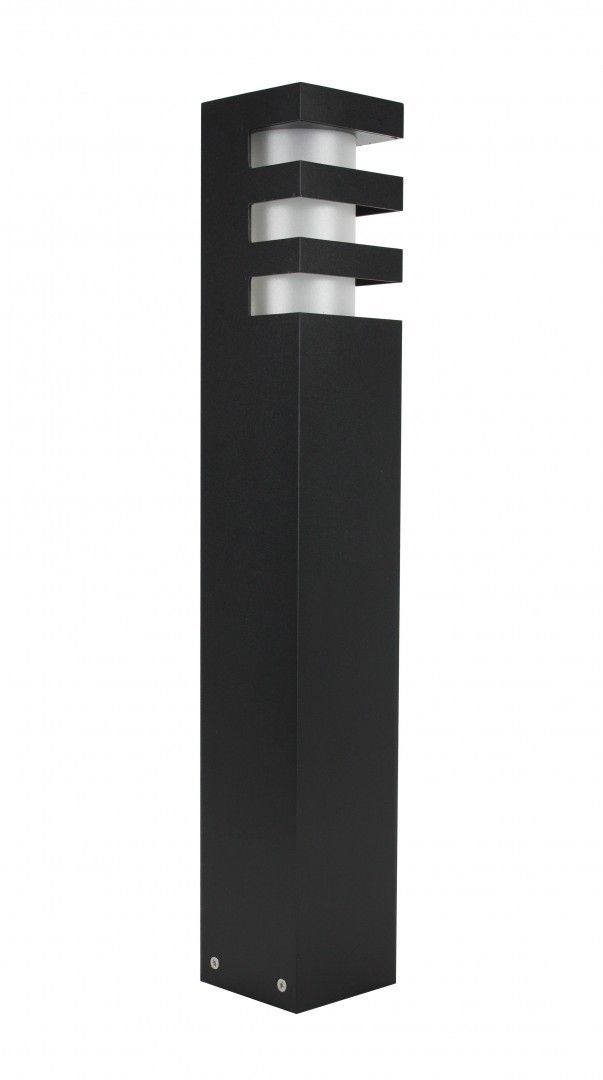 SU-MA RADO 2 BL lampa stojąca czarna E27 IP54 50cm