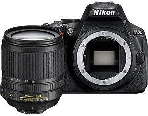 Nikon D5600+ AF-S 18-105mm VR Czarny