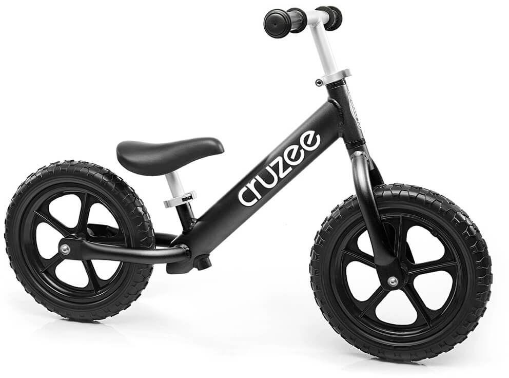 Rowerek biegowy Cruzee 12 czarny czarne koła