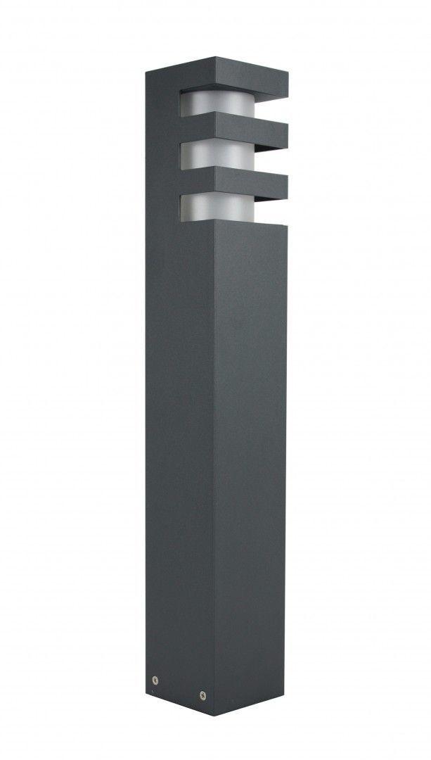 SU-MA RADO 2 DG lampa stojąca ciemny popiel E27 IP54 50cm