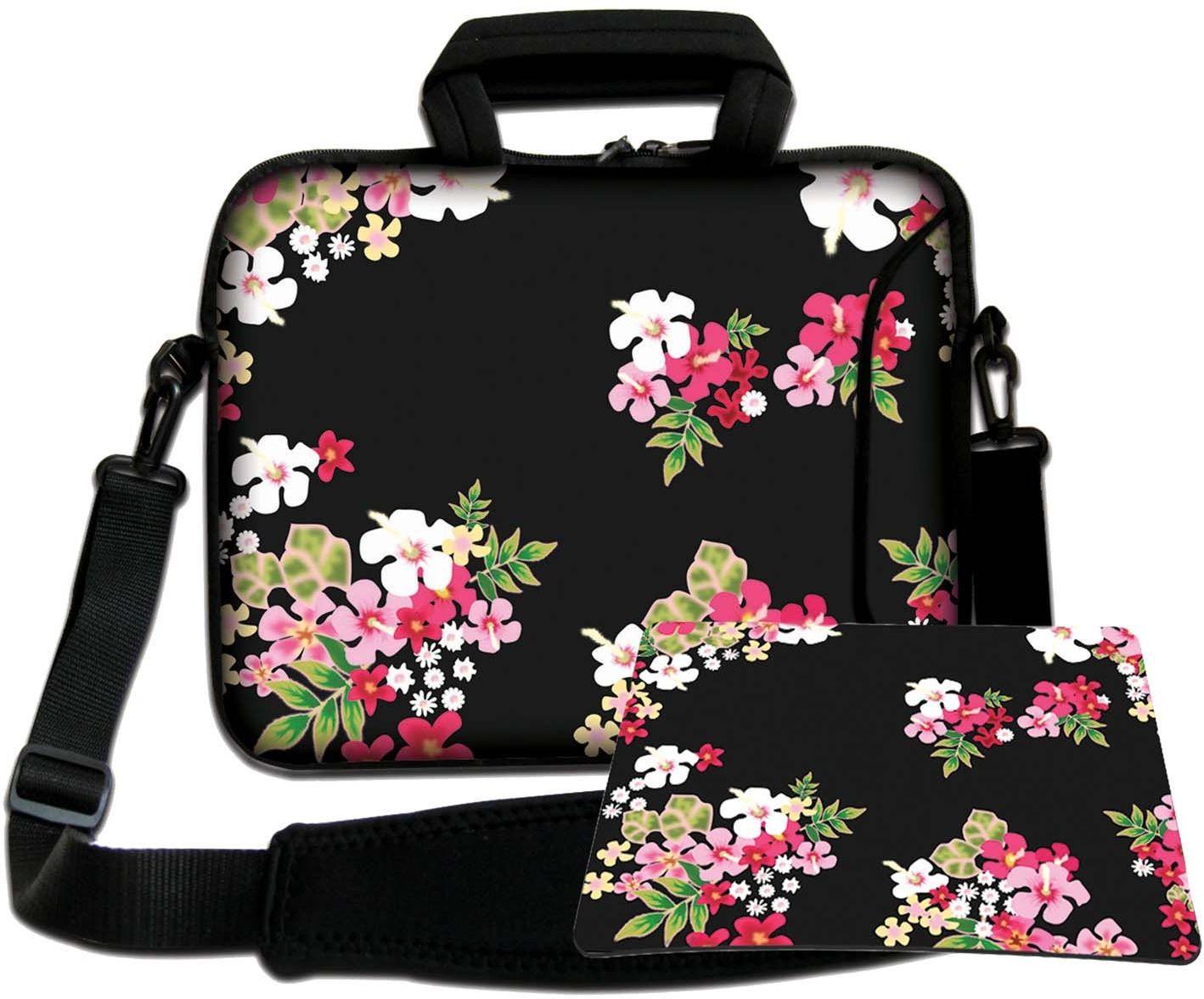 Luxburg torba na ramię torba na notebooka torba na laptopa torba z paskiem z neoprenu Plus Free Moupad! Do Apple, Acer, Asus, Chromebook, Dell, HP, Lenovo, Samsung, Sony itd. Laptop 10,2 cala