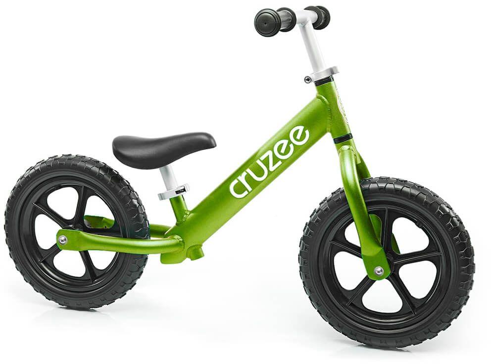 Rowerek biegowy Cruzee 12 zielony green czarne koła