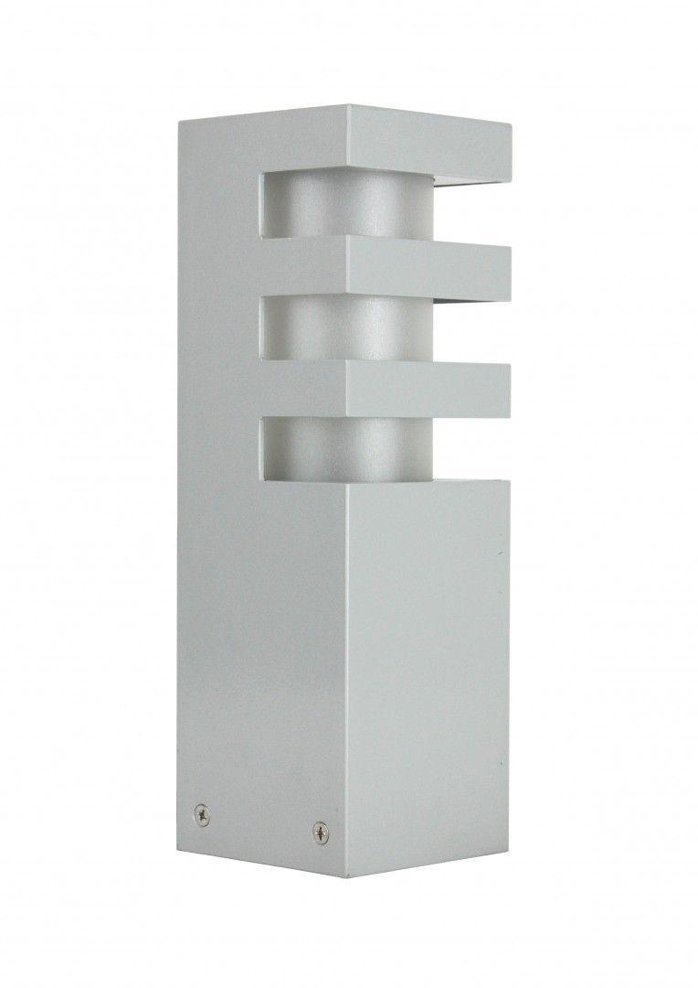 SU-MA RADO 3 AL lampa stojąca srebrna E27 IP54 25cm
