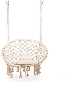 Fotel wiszący huśtawka ogrodowa bocianie gniazdo Goodhome