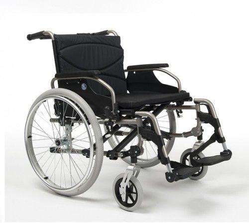 Vermeiren Wózek inwalidzki aluminiowy V300 XXL dedykowany dla osób ważących do 175 kg
