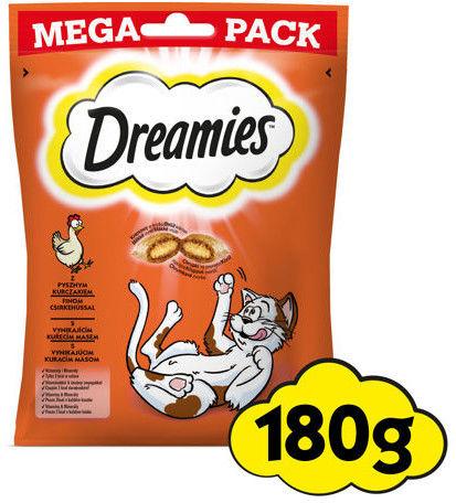 DREAMIES Mega Pack 4x180g - przysmak dla kota z pysznym kurczakiem