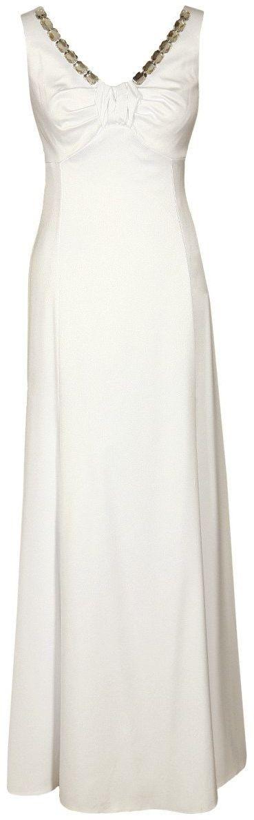 Sukienki Sukienka Suknie FSU1023 EKRI