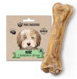 Paka Zwierzaka Kość z Dodatkiem Strusia XL Przysmak Dla Psa 115 g