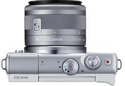 Canon EOS M100 +EF-M 15-45mm STM Biały