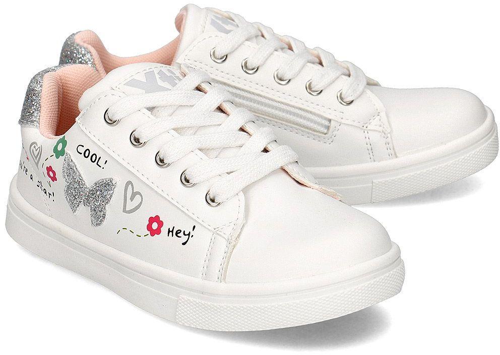 Xti - Trampki Dziecięce - 57150 WHITE - Biały