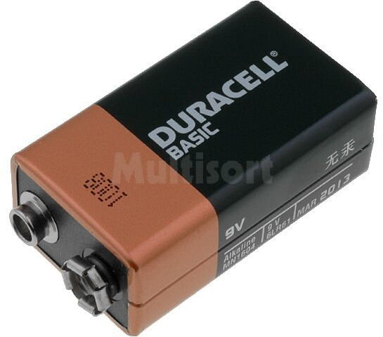 Bateria alkaliczna 9V Duracell Basic R22