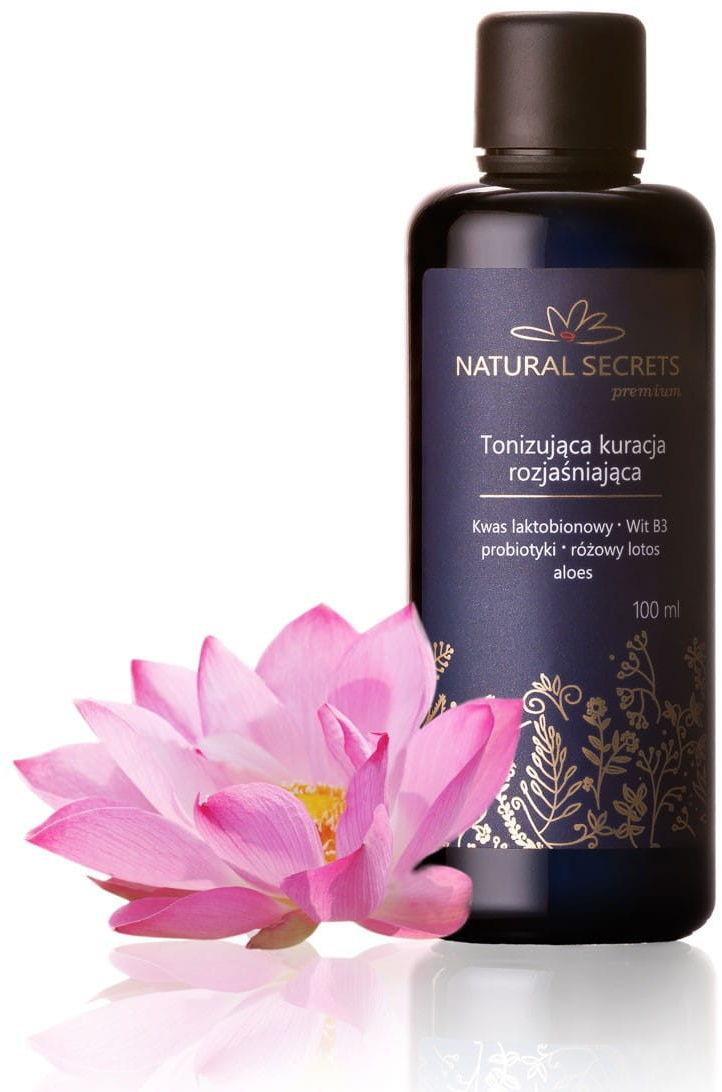 Natural Secrets Tonizująca Kuracja Rozjaśniająca 100 ml