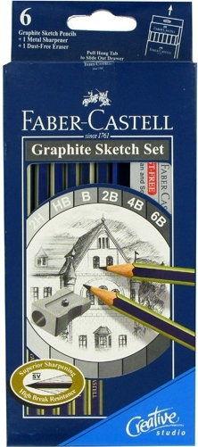 Zestaw ołówków grafitowych - szkicowych Graphite Sketch Set Fabe