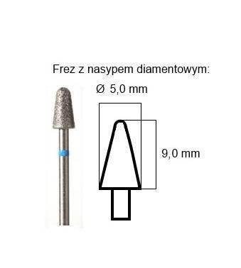 PODOMEDICAL FREZ DIAMENTOWY K-03 (KULKA)
