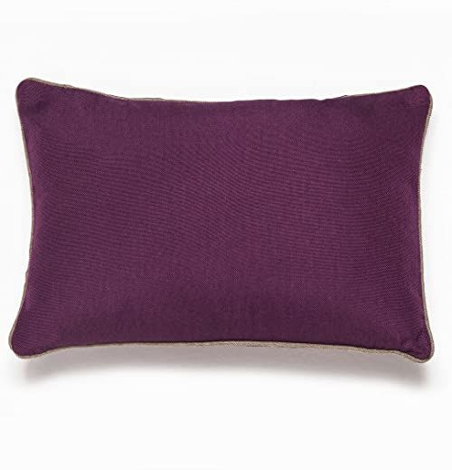 Sancarlos Rioja poduszka, fioletowa, 45 x 45
