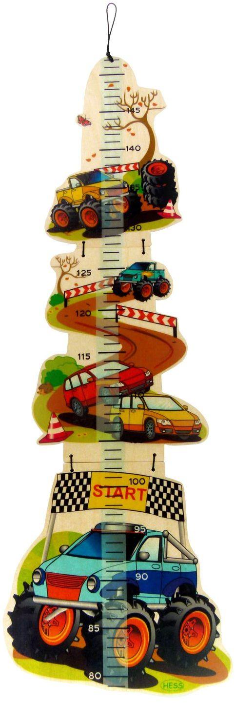 Hess 14629 drewniany monster truck podwórko zabawka dla dzieci, wielokolorowa