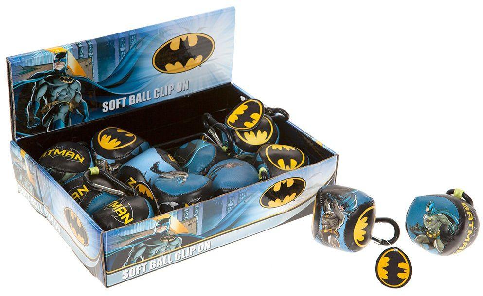 Joy Toy 301042 Batman klipsy miękkie breloczki