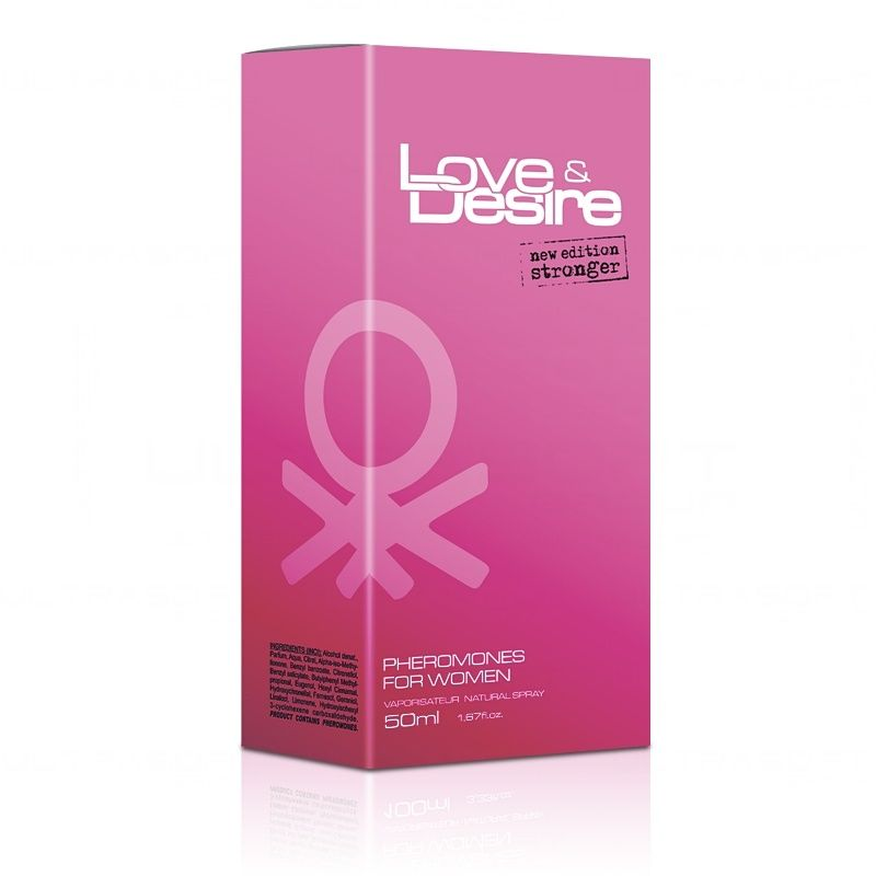 Love Desire 50ml Damskie perfumy z feromonami