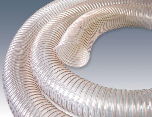 Wąż ssawny elastyczny PUR Lekki AG fi 95 AGRO