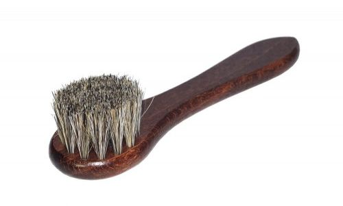 Szczotka mazak do pasty Końskie włosie 15cm szary