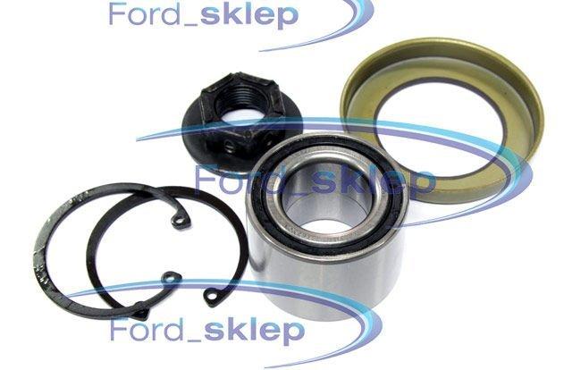 łożysko koła + pierścień ABS Focus Fiesta Fusion - NK - tył