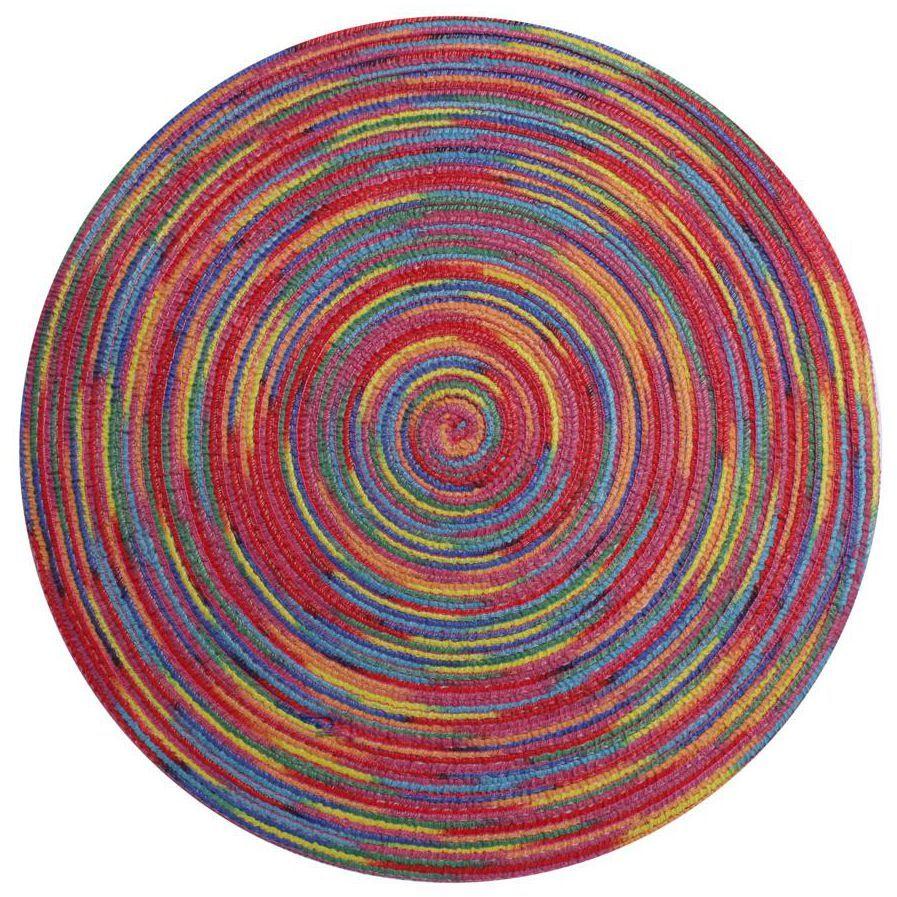 Podkładka na stół Lollipop okrągła śr. 38 cm czerwona