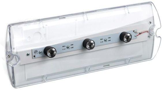 Oprawa awaryjna HELIOS IP65 LED 3x1W 380lm 14m 3h jednozadaniowa A THWD/3x1W/B/3/SE/AT/TR