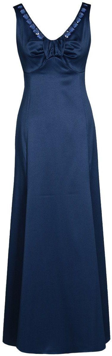 Sukienki Sukienka Suknie FSU1023 GRANATOWY