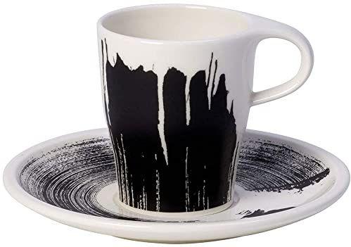 Villeroy & Boch 10-4248-9121 Coffee Passion Awake zestaw do espresso premium, porcelana, 6 butelek