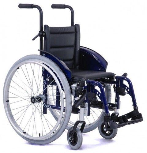 Vermeiren EclipsX 4 kids wózek ze stopów lekkich dla dzieci