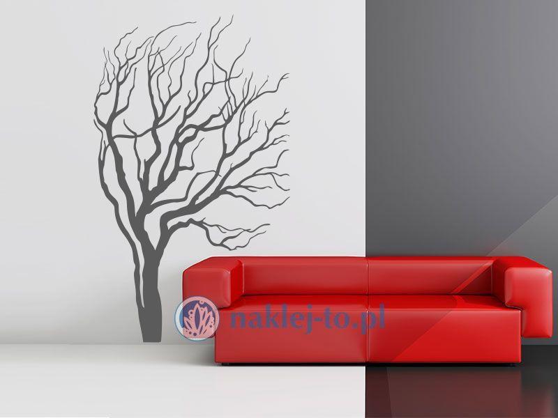 naklejka Drzewo rozdarte Seria drzewa