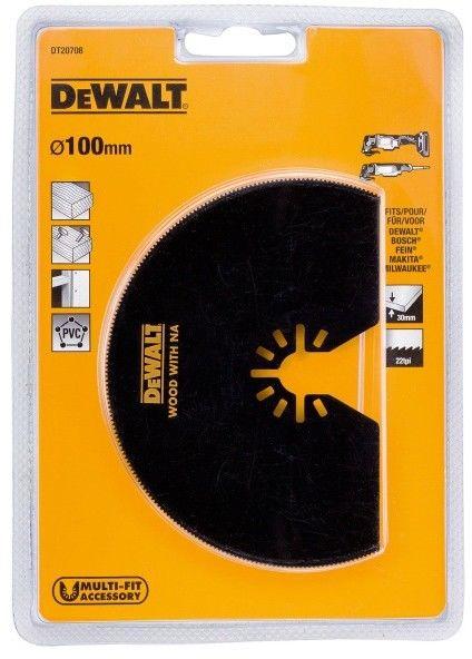 Brzeszczot półokrągły DeWalt 100 mm