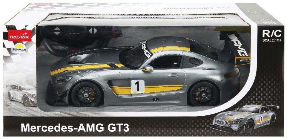 "Rastar 74100"" Mercedes Benz AMG GT3 Performance, pojazd 1:14"""