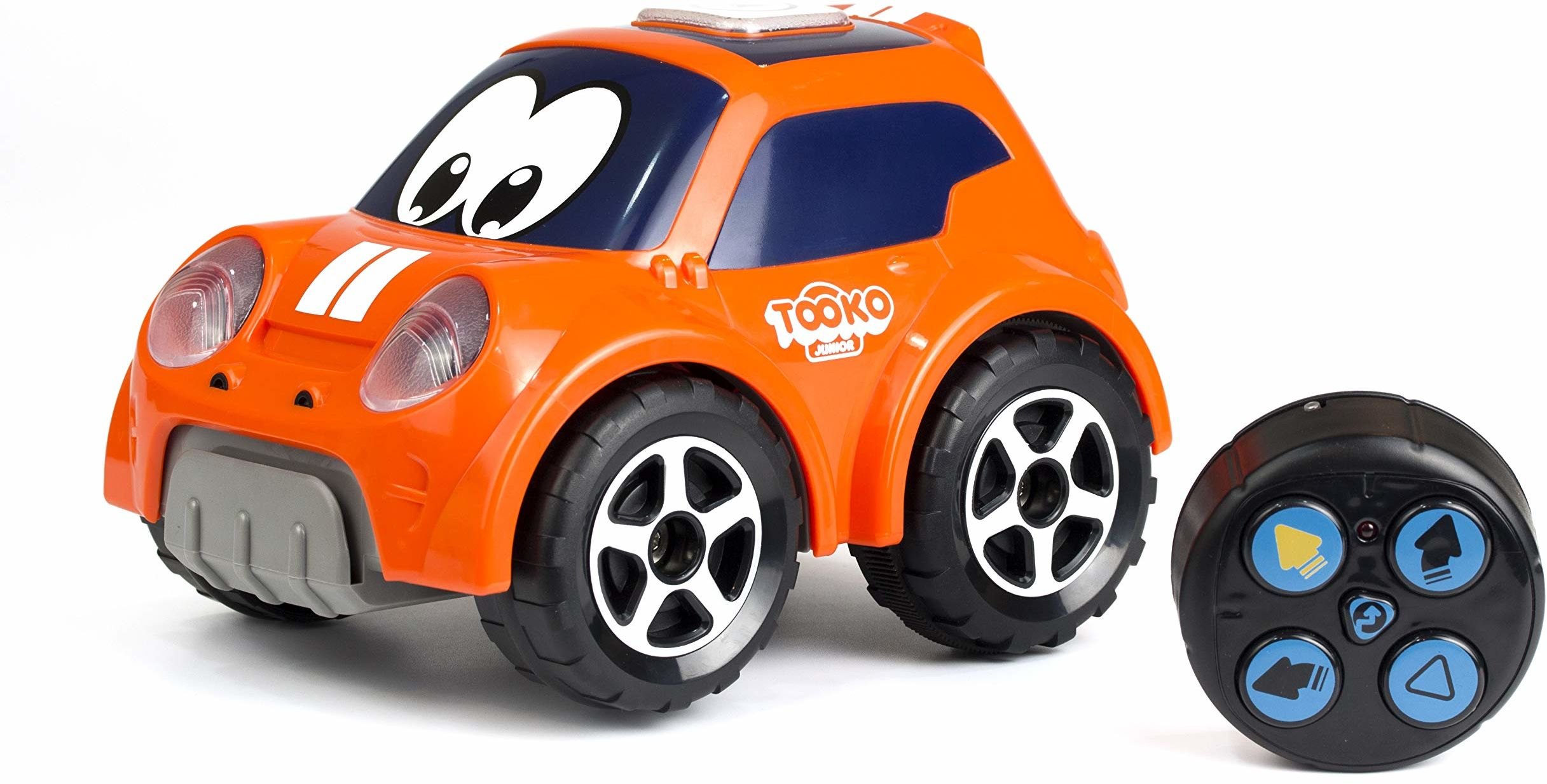 Silverlit - 81472 - Follow me Car - Tooko - samochodzik zabawkowy - od 2 lat - pomarańczowy