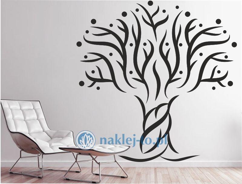 naklejka drzewo owocowe Seria drzewa