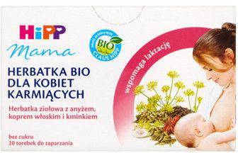 Hipp Herbatka dla matek karmiących ziołowa z anyżem, koprem włoskim i kminkiem Bio 20 saszetek
