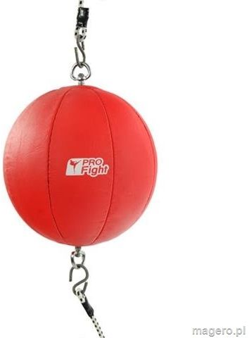 Gruszka bokserska Profight 903 PVC with rubber czerwona