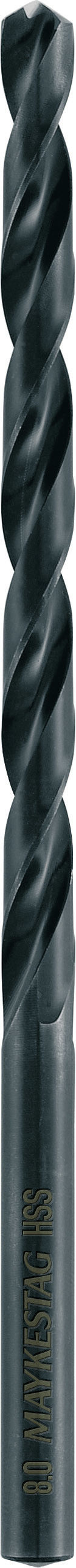 samocentrujące, wydłużone wiertło do metalu HSS 10,0-184/121mm, Alpen [0050101000100]