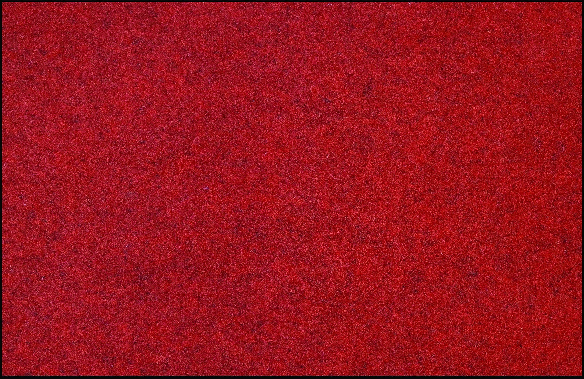 ID mat t Prima, włókna syntetyczne, czerwony, 40 x 60 x 0,5 cm